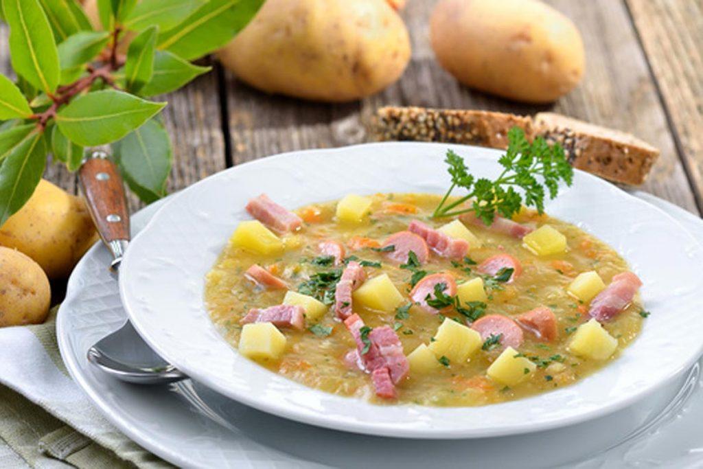 Spreewälder Kartoffelsuppe